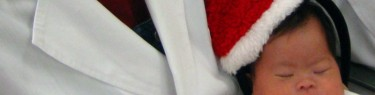 NICUではじめてのクリスマス