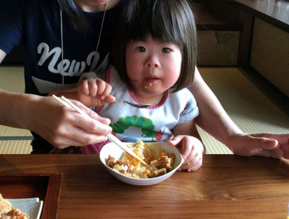 柳町の親子丼