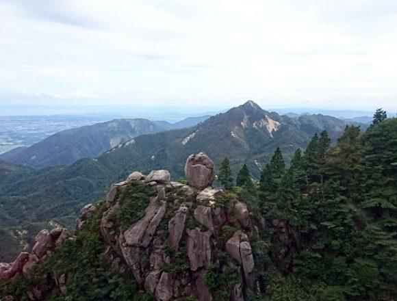 御在所山上からの眺望