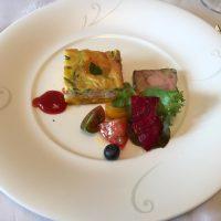 フレンチレストランの前菜
