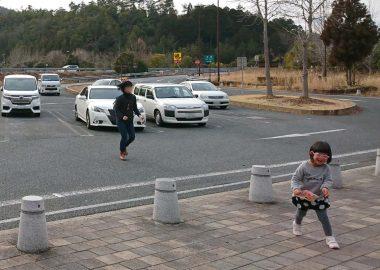 京都縦貫自動車道 南丹PAでトイレ休憩