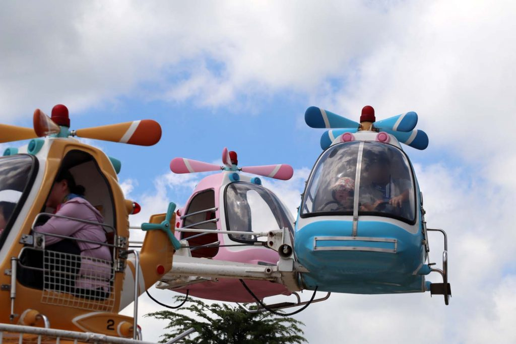 東条湖おもちゃ王国・飛行機